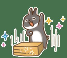 japanese bunny sticker (silent ver.) sticker #6532373