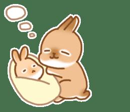 japanese bunny sticker (silent ver.) sticker #6532376