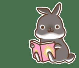 japanese bunny sticker (silent ver.) sticker #6532377