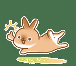 japanese bunny sticker (silent ver.) sticker #6532378