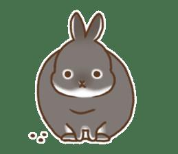 japanese bunny sticker (silent ver.) sticker #6532379