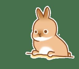japanese bunny sticker (silent ver.) sticker #6532382