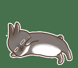 japanese bunny sticker (silent ver.) sticker #6532383