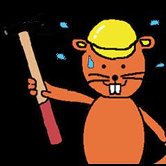 Building industry beaver