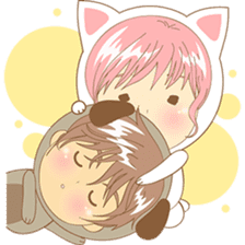 Love couple pack : sweet romance 2 sticker #6535235