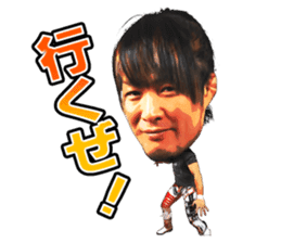 NEW JAPAN PRO-WRESTLING Ver.2 sticker #6537266