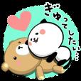 LINEスタンプランキング | めっちゃ使える!パンダねこ 好き!大好き!!