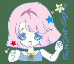 Hiromi-She talks Hiroshima's dialect. sticker #6547344
