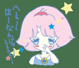 Hiromi-She talks Hiroshima's dialect. sticker #6547348