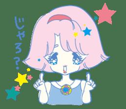 Hiromi-She talks Hiroshima's dialect. sticker #6547349