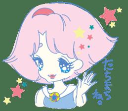 Hiromi-She talks Hiroshima's dialect. sticker #6547352