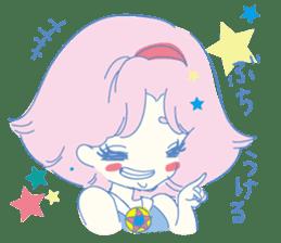 Hiromi-She talks Hiroshima's dialect. sticker #6547355