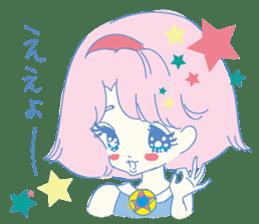 Hiromi-She talks Hiroshima's dialect. sticker #6547357