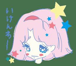 Hiromi-She talks Hiroshima's dialect. sticker #6547358