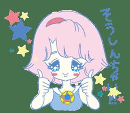 Hiromi-She talks Hiroshima's dialect. sticker #6547362