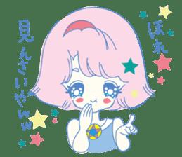 Hiromi-She talks Hiroshima's dialect. sticker #6547364