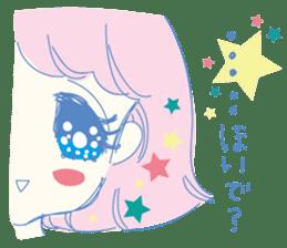 Hiromi-She talks Hiroshima's dialect. sticker #6547365