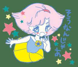 Hiromi-She talks Hiroshima's dialect. sticker #6547366