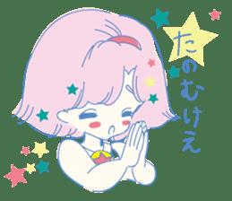 Hiromi-She talks Hiroshima's dialect. sticker #6547367