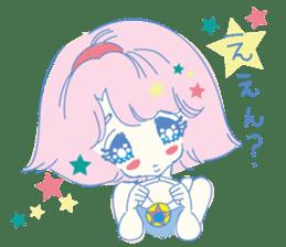 Hiromi-She talks Hiroshima's dialect. sticker #6547368