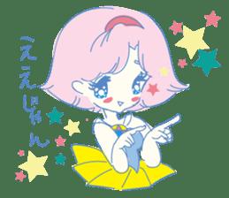 Hiromi-She talks Hiroshima's dialect. sticker #6547371