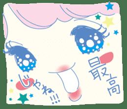 Hiromi-She talks Hiroshima's dialect. sticker #6547381