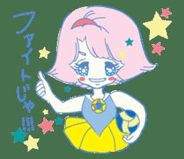 Hiromi-She talks Hiroshima's dialect. sticker #6547382
