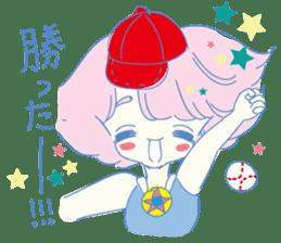 Hiromi-She talks Hiroshima's dialect. sticker #6547383