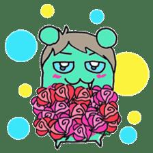 Vampire bear clan sticker #6561670