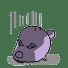 Vampire bear clan sticker #6561674