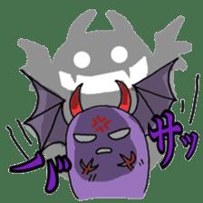 Vampire bear clan sticker #6561679