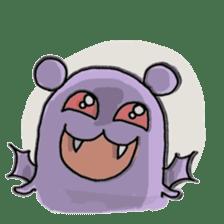 Vampire bear clan sticker #6561680