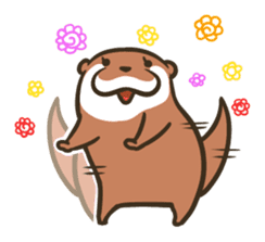 Kotsumetti of Small-clawed otter 04 sticker #6562716