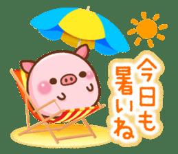 The Colo pigs sticker #6564671