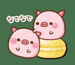 The Colo pigs sticker #6564691