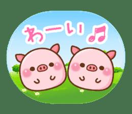 The Colo pigs sticker #6564697