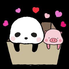 Sweet Panda & Honey Pig Part 2 by Ellya