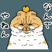 สติ๊กเกอร์ไลน์ STRANGE WORLD OF CATS -Kansai dialect-