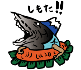 Mr.Masu sushi and Mr.Firefly squid. sticker #6576932