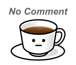 Sticker of the Coffee cup sticker #6589403