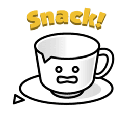 Sticker of the Coffee cup sticker #6589408