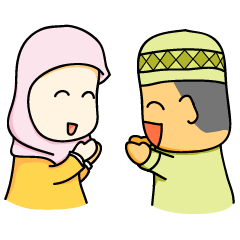 Boy and Girls Ramadhan moments