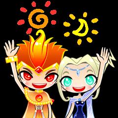 Sun King & Moon Queen