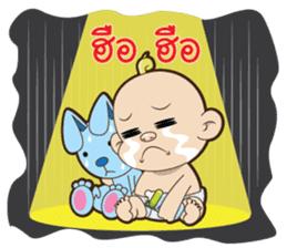 baby bad sticker #6594280