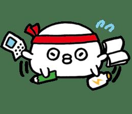 lazy puffer fish sticker #6599364