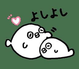 lazy puffer fish sticker #6599365