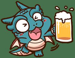 Drakosaurus sticker #6607229