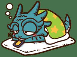 Drakosaurus sticker #6607230
