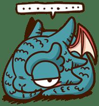 Drakosaurus sticker #6607240