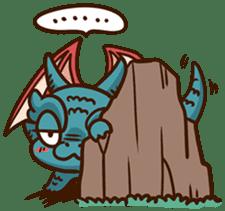 Drakosaurus sticker #6607241